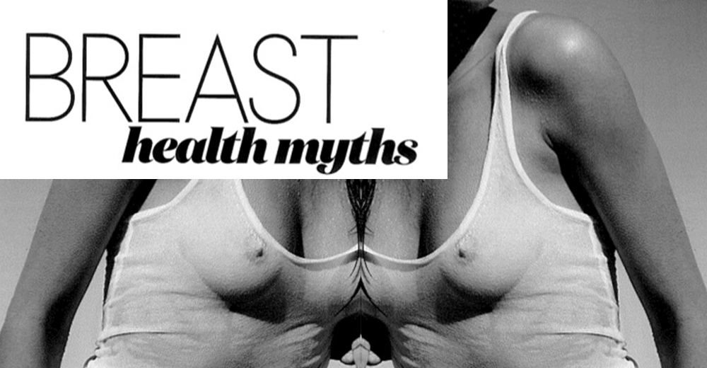 Elle Magazine feature - Breast Health Myths